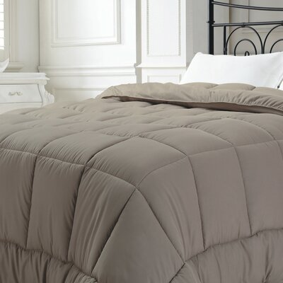 Broncho Comforter Set Size: King, Color: Taupe