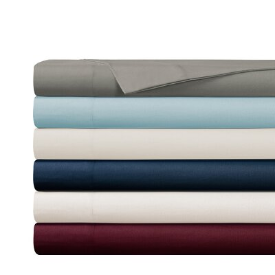 Gobert Flannel Sheet Set Color: Stone, Size: Twin