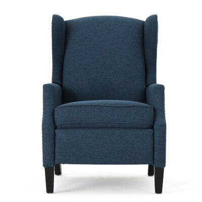 Recliner Upholstery: Navy Blue