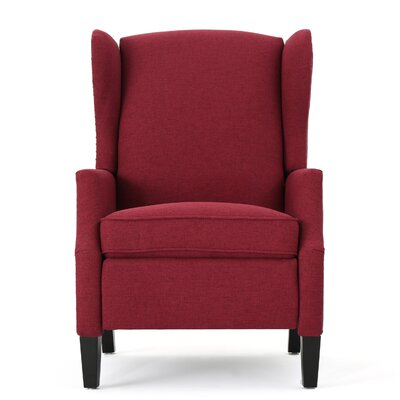Recliner Upholstery: Deep Red