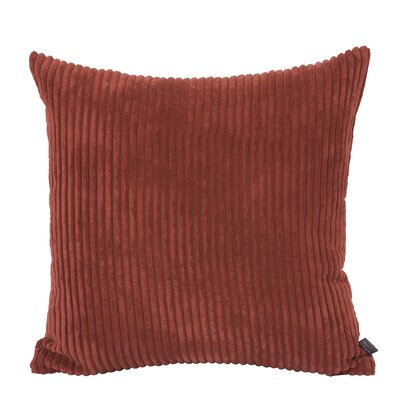 Bluff Throw Pillow Color: Red