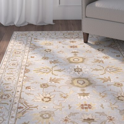 Trinningham Blue/Brown Rug Rug Size: Rectangle 2 x 3