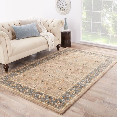 Trinningham Hand-Tufted Wool Area Rug Rug Size: Rectangle 36 x 56