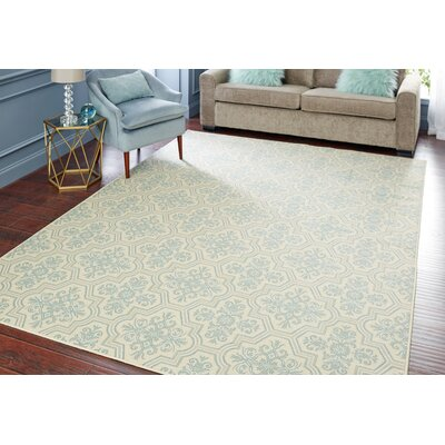 Montville Modesto Blue Area Rug Rug Size: Rectangle 76 x 10