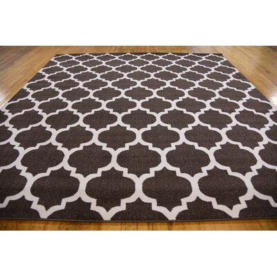 Moore Brown Area Rug Rug Size: Square 10