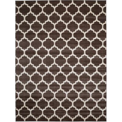 Moore Brown Area Rug Rug Size: 9 x 12