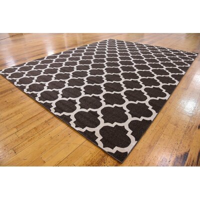 Moore Brown Area Rug Rug Size: 10 x 13