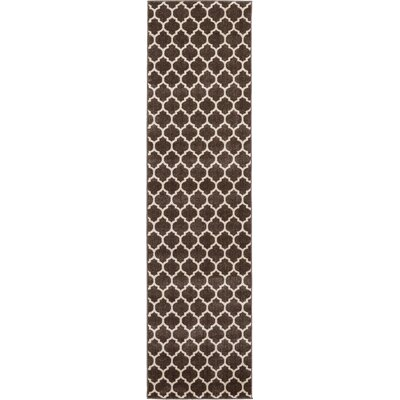 Moore Brown Area Rug Rug Size: Runner 10 x 3