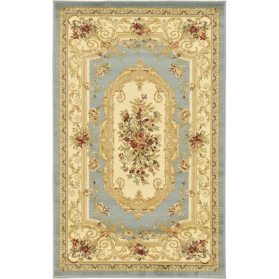 Patton Gray Area Rug Rug Size: 5 x 8