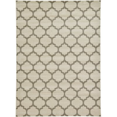 Moore Beige & Tan Area Rug Rug Size: Rectangle 8 x 11