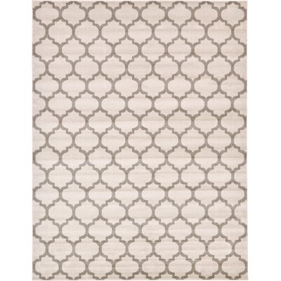 Moore Beige & Tan Area Rug Rug Size: Rectangle 10 x 13