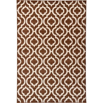 Moore Brown Area Rug Rug Size: 6 x 9