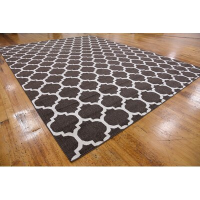 Moore Brown Area Rug Rug Size: Rectangle 122 x 16
