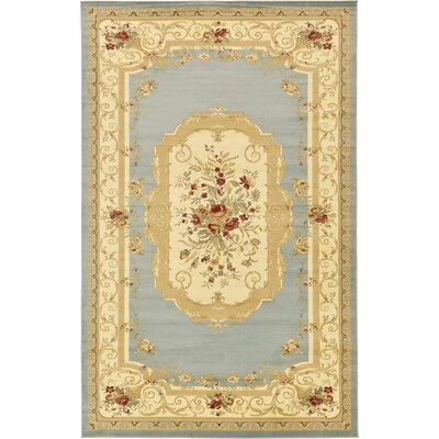 Patton Gray Area Rug Rug Size: Rectangle 106 x 165