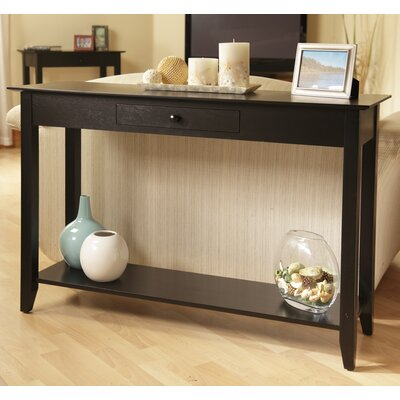 Greenspan Console Table Finish: Black