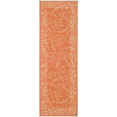 Alberty Indoor / Outdoor Rug Rug Size: Runner 24 x 67