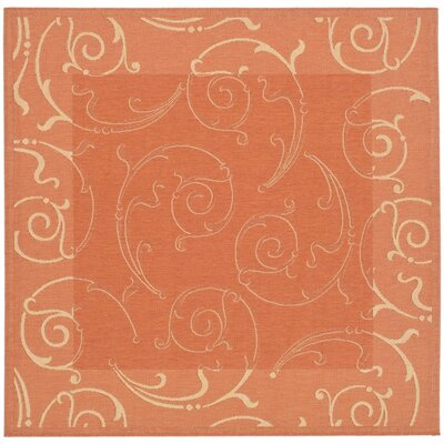 Alberty Indoor / Outdoor Rug Rug Size: Square 710
