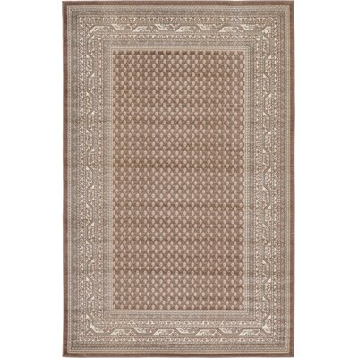 Michael Brown Area Rug Rug Size: 4 x 6