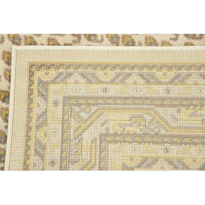 Gillam Beige Area Rug Rug Size: Rectangle 4 x 6