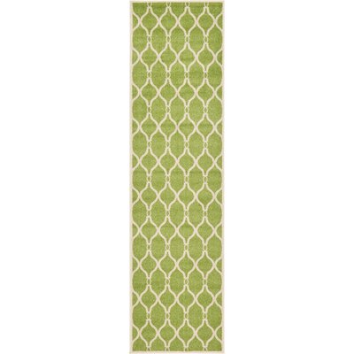 Molly Green Area Rug Rug Size: Runner 27 x 10