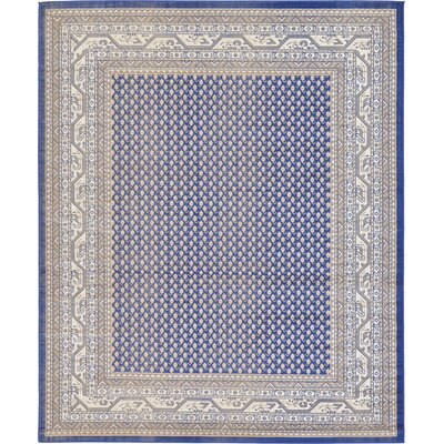 Michael Blue Area Rug Rug Size: Rectangle 8 x 10
