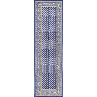 Michael Blue Area Rug Rug Size: Runner 29 x 910