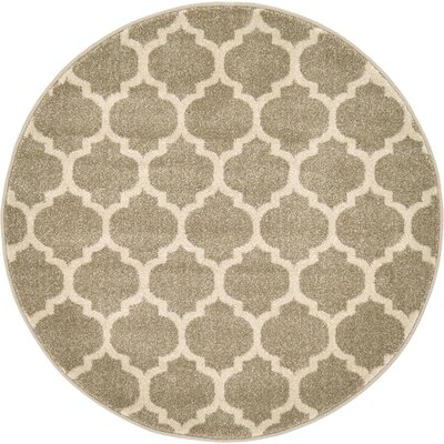 Moore Tan Area Rug Rug Size: Rectangle 33x33