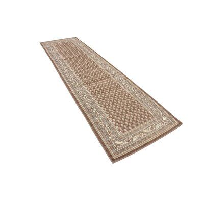 Gillam Brown Area Rug Rug Size: Runner 29 x 91