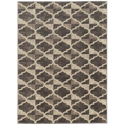Norwich Brown Area Rug Rug Size: 33 x 411