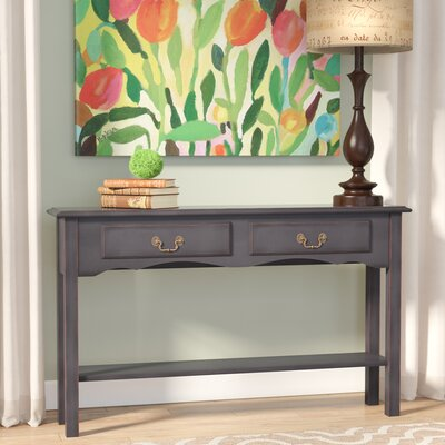 Annesley Petite Console Table Finish: Black