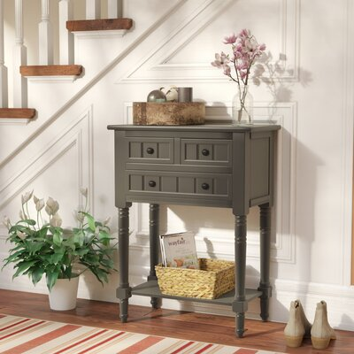 Wedgewood Console Table Finish: Antique Grey