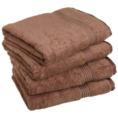 Patric Bath Towel Set Color: Mocha