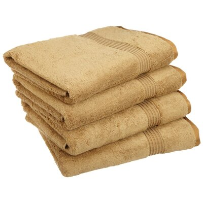 Patric Bath Towel Set Color: Toast