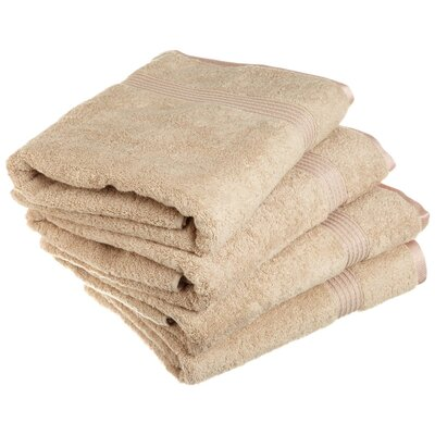 Patric 4 Piece Bath Towel Set Color: Taupe