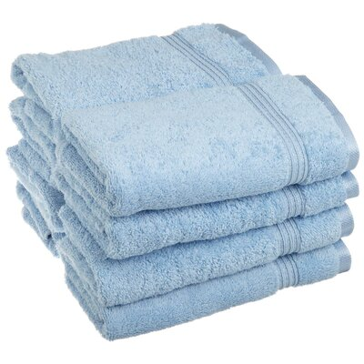 Nashville 600GSM Premium Combed Cotton Hand Towel Color: Light Blue