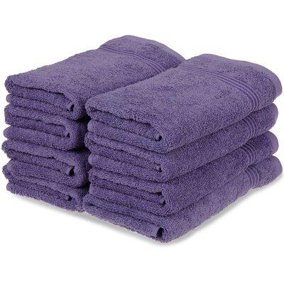 Nashville 600GSM Premium Combed Cotton Hand Towel Color: Royal Purple