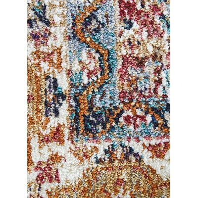 Bitteridge Red/Tan/Blue Area Rug Rug Size: 9 x 12
