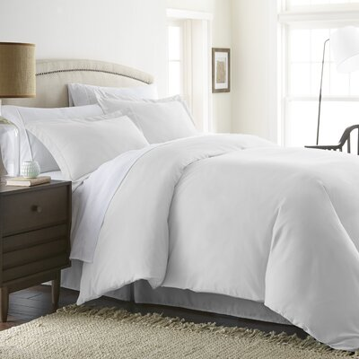 Moran Duvet Set Color: White, Size: King