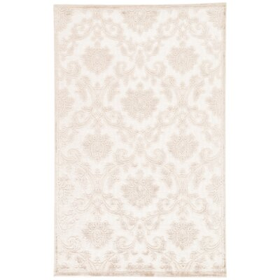 Ada Ivory/Beige Area Rug Rug Size: Rectangle 2 x 3