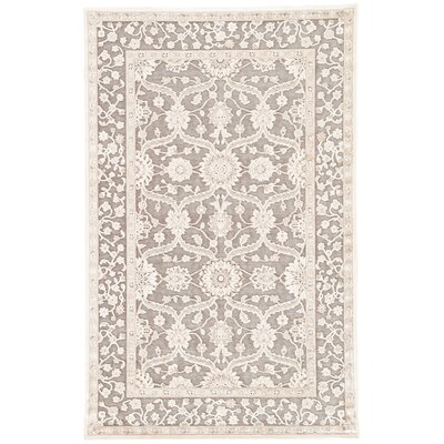 Ada Gray/Tan Area Rug Rug Size: Rectangle 2 x 3