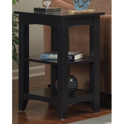 Shaker Cottage Birch Creek End Table Color: Espresso