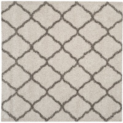 Buford Ivory/Gray Area Rug Rug Size: 3 x 5