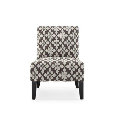 Portland Danville Slipper Chair Upholstery: Mocha