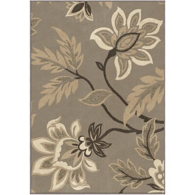 Breitkoff Taupe Area Rug Rug Size: 710 x 1010