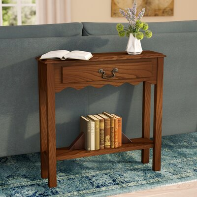 Apple Valley Console Table Finish: Medium Oak