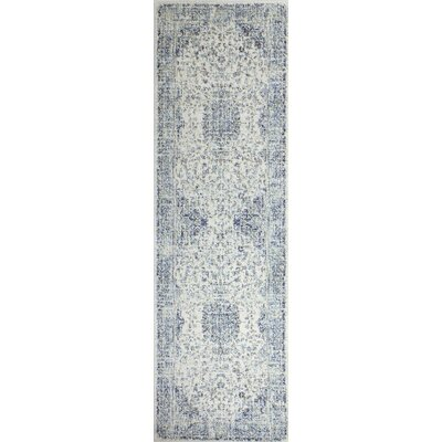 Bertrand Ivory Area Rug Rug Size: Runner 26 x 8
