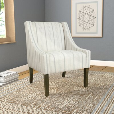Londonshire Swoop Armchair Upholstery: Dove Gray
