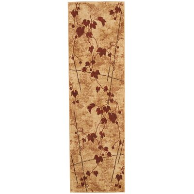 Cahill Latte Area Rug Rug Size: Runner 23 x 8