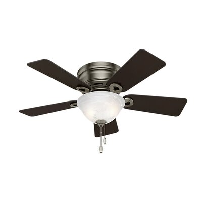 42 Conroy 5-Blade Ceiling Fan Finish: Antique Pewter with Rosewood/Dark Maple Blades