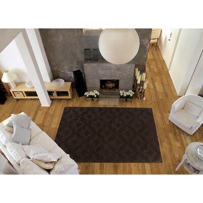 Spafford Brown Area Rug Rug Size: Square 12